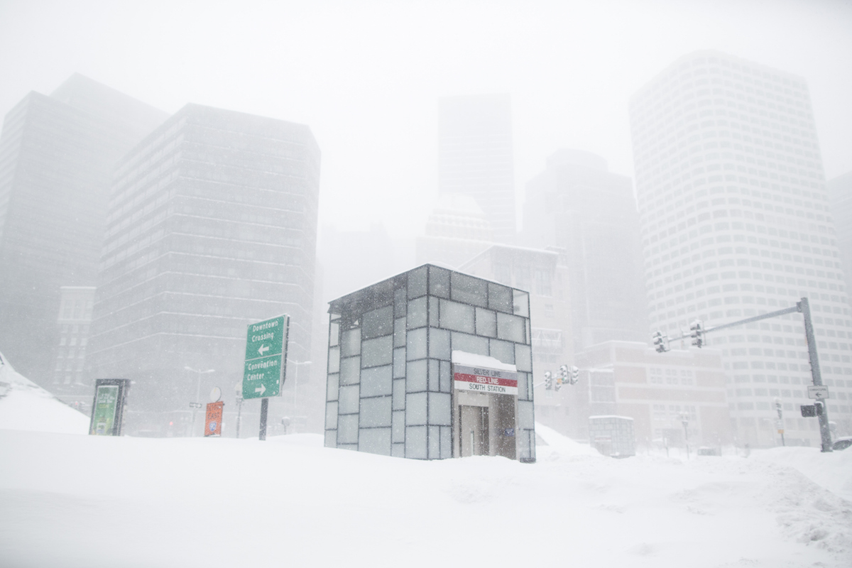 Another Snowstorm Hits Winter-Weary Boston Area